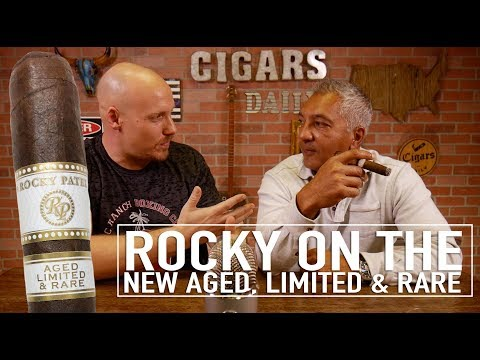 Rocky Patel On His New Aged, Rare, & Limited Cigar!!!