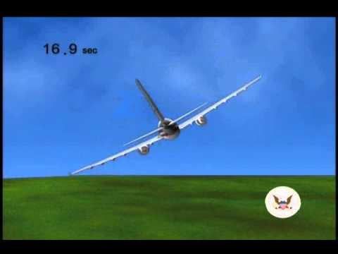In-Flight Separation of Vertical Stabilizer American Airlines Flight 587 - Simulator Training