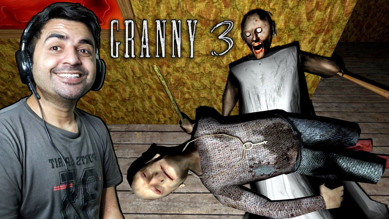GRANNY AND GRANDPA BOTH - Granny 3 Full Gameplay | Best Horror Android Game