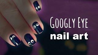 Googly Eye Nail Tutorial + Diy Nail Art Tools!!! |12 Days Of Halloween 2014