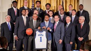 Duke Basketball's 2015 White House Visit