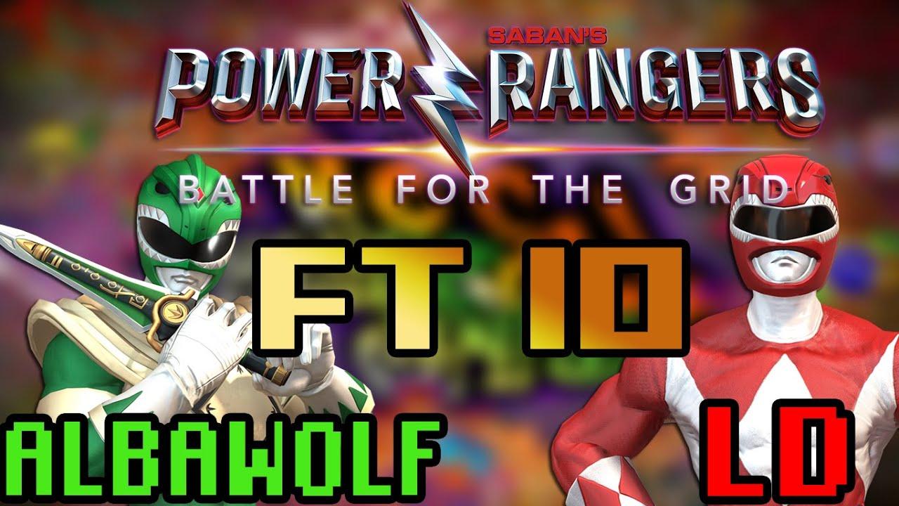 ESSE JOGO ENTROU PRA HISTÓRIA - POWER RANGERS BATTLE FOR THE GRID [FT10] (ALBAWOLF x LD)