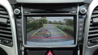 Hyundai Navigation App Rear Camera Video Thumbnail