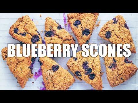 Blueberry Scones (Vegan & Gluten-free!)