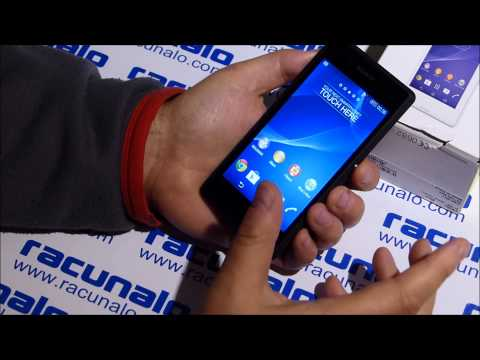 Sony Xperia E3 - video test (25.10.2014)