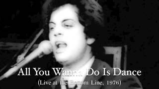 Billy Joel: All You Wanna Do Is Dance (Live)