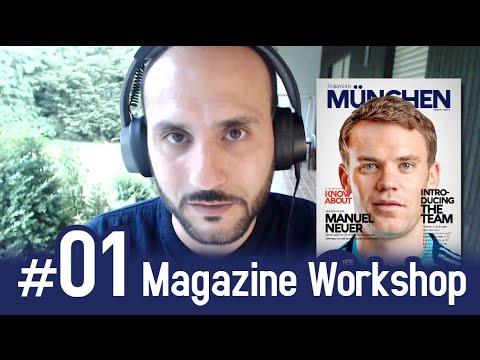 1# Full Magazine Workshop (Art Director Job) - P1#Introduction