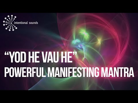 ॐ Intentional Sounds ॐ -- YHVH POWERFUL MANIFESTING MANTRA [Meditation Music] (by ➠ Gianni Bardaro )