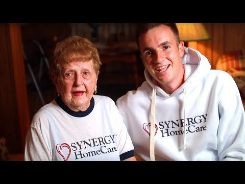Announcement: Kevin And Grandma Lill: SYNERGY HomeCare Brand Ambassadors | SYNERGY HomeCare