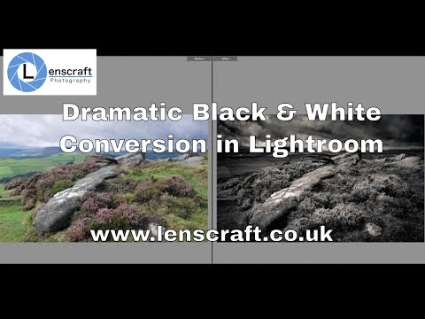 Dramatic Black and White Conversion in Lightroom