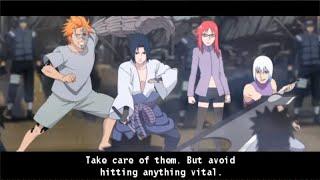 Naruto Shippuden Kizuna Drive Walkthrough Part 21 The Hidden Dream vs Hebi 60 FPS