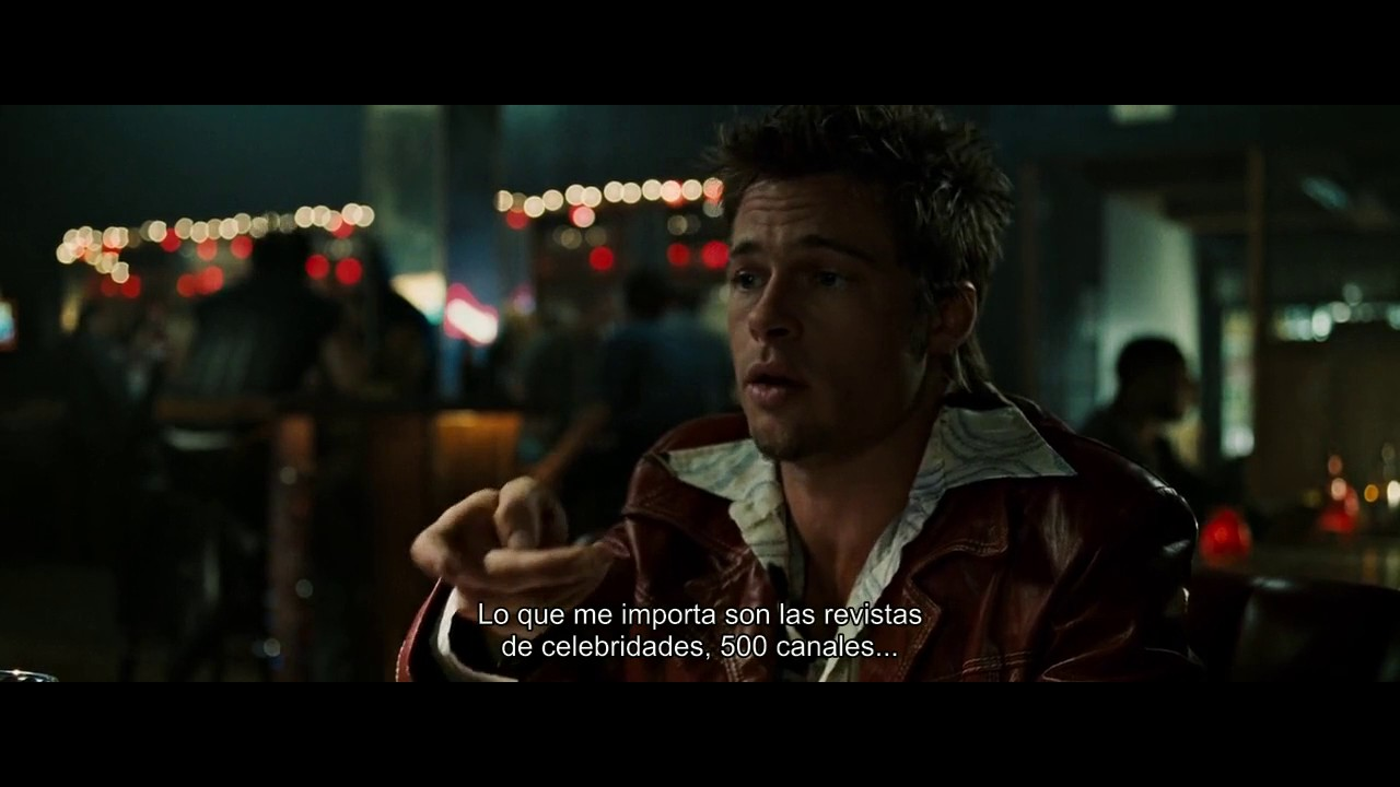 fight club bar scene Fight club lou vs tyler durden did you know we can help you avoid severe migraines by gently walking you through video compression best practices with our friendly tutorials.