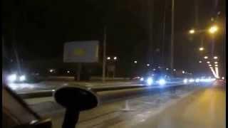 ДТП в Симферополе из за скользких дорог