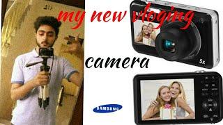 my new vloging camera samsung pl120