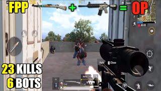 FPP Action | Solo Vs Squad | M416 And Kar98k | 23 Kills Dinner
