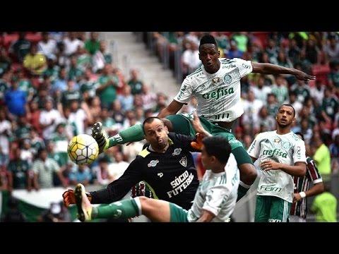 Fluminense 0 x 2 Palmeiras - Gols & Melhores Momentos - Brasileirão 28/08/2016