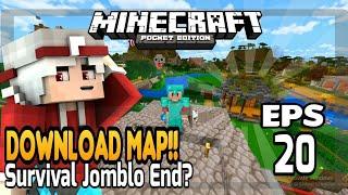 DOWNLOAD MAP SURVIVAL EPS 20!! || Minecraft Survival Indonesia