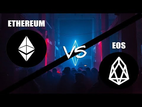EOS vs Ethereum   When Will EOS Challenge Ethereum For The #2 Spot?