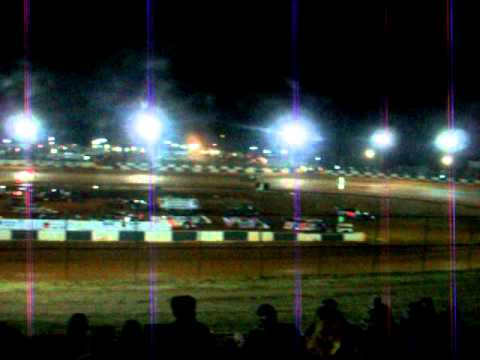 Ray Cook Qualifying at Green Valley Speedway 2011 Bama Bash