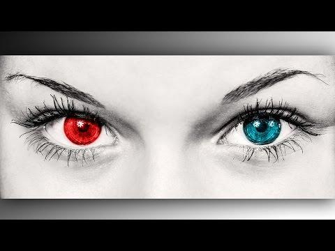 Как убрать красные глаза в Фотошопе