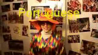 Happy New Year 2020 - Funny different langages
