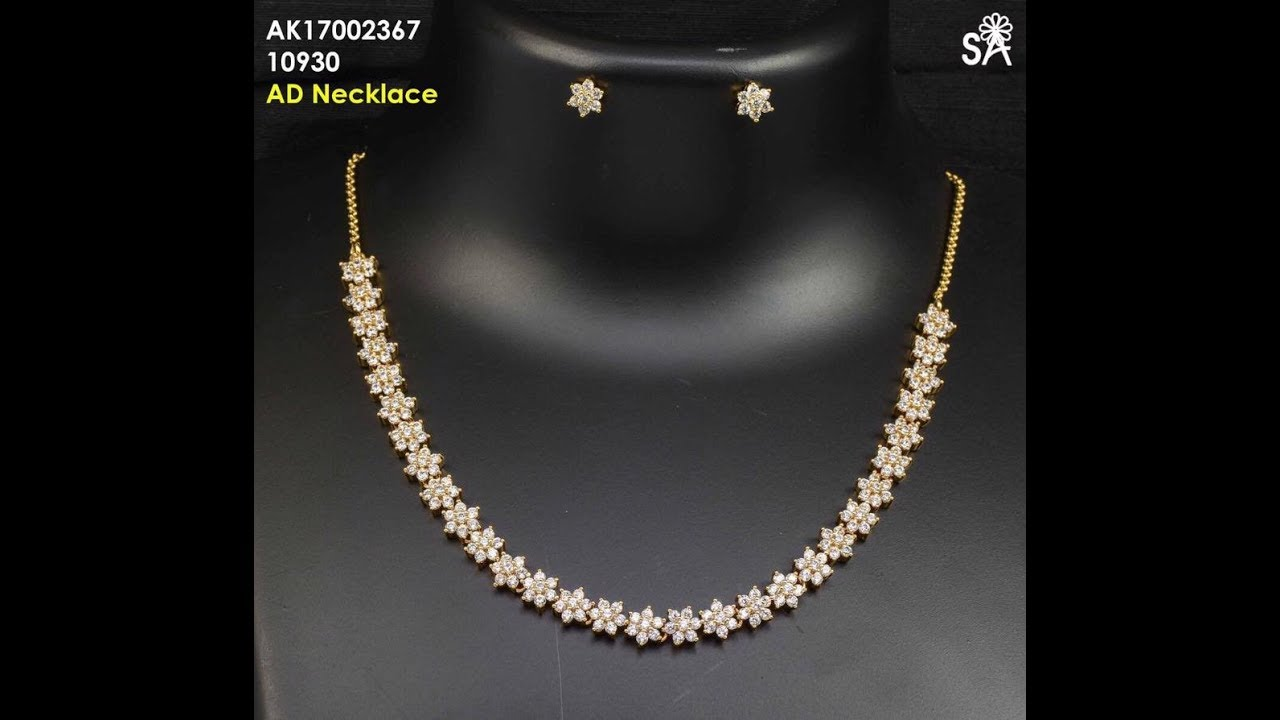 Famous Latest Necklace Images In Party Ware Gallery - Jewelry ...