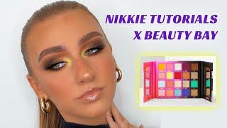 NIKKIE TUTORIALS X BEAUTY BAY | TUTORIAL & REVIEW | REBECCA CAPEL MAKEUP
