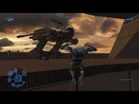 Star Wars - Battlefront (2004) - Bespin: Platforms - Instant Action - CIS Vs. Republic |