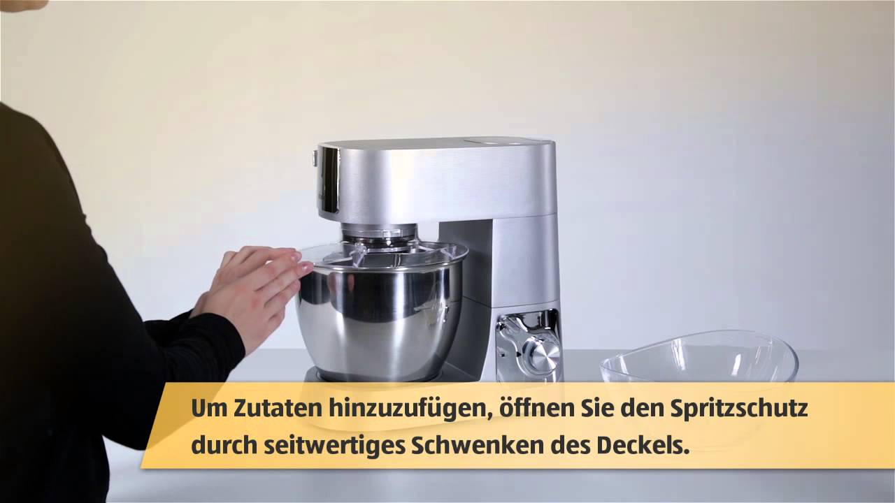 Profi-Küchenmaschine (AT) - YouTube