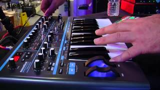 Novation Bass Station II Analogue Synth Review Part 1 at Nevada Music UK