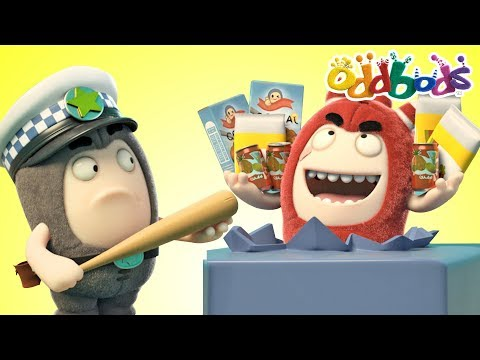 Oddbods - FOOD FIASCO #3 | Funny Cartoons For Kids | The Oddbods Show