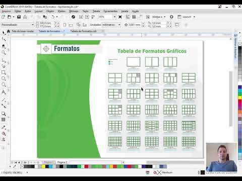 Curso De Corel Draw: Domine A Tabela De Formatos Gráficos