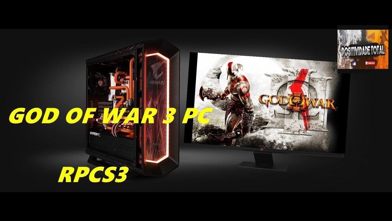 God of war 3 rpcs3 emulador 2019 tutorial