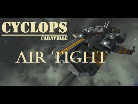 Space engineers Spotlight - Cyclops Caravelle (Vanilla) Pressurized - Workshop