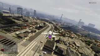 GTA V Gameplay #3 - Secret Military Base and Jet Flying, First Ever!