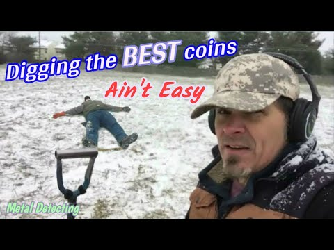 Working For Em' - Metal Detecting OLD coins in places no one else goes! 1