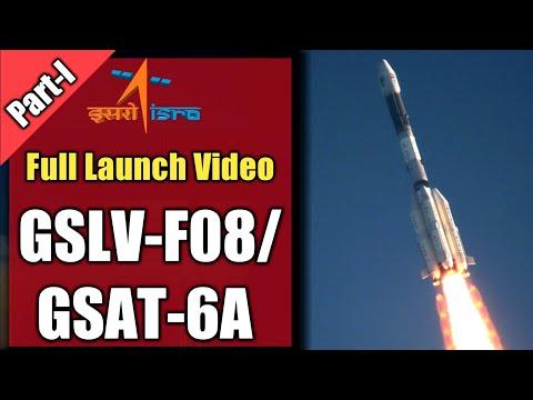 🔴 LIVE ISRO | GSLV -F08/GSAT -6A launch from Shriharikota | PART 1