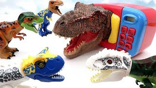 Download Dinosaur Surprise Microwave Toys! Dinosaur Heads Transformer Big Head For Kids Mp3 and Videos