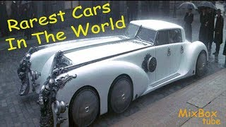 Top 10 Rarest And Most Expensive Cars In The World,, Rarest Car Of All Time.