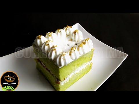 Pistachio Cake With Honey & Cream Cheese Frosting || Easy Pistachio Cake Recipe In Malayalam