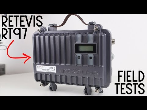 Field Test Of The Retevis RT97 UHF Portable Repeater!