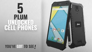 Top 5 Plum Unlocked Cell Phones [2018 Best Sellers]: Plum Gator 4 - Rugged Smart Cell Phone Unlocked
