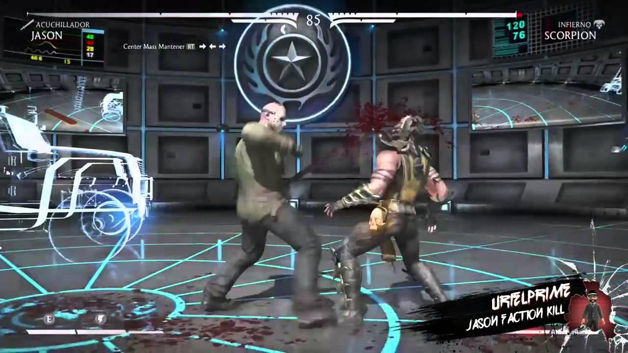 Mortal Kombat X Jason Voorhees Faction Kill