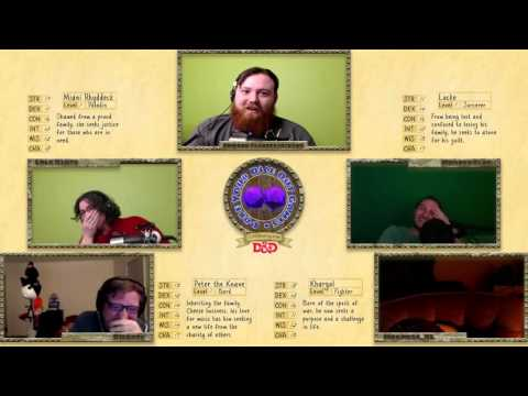 Twitch Streamer falls asleep live playing D&D