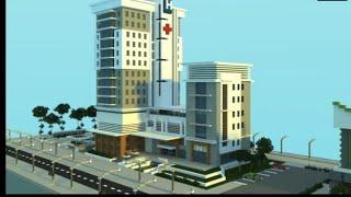 Minecraft Hastane Yapimi