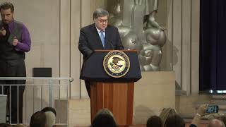 Lawful Access Summit – Attorney General Barr's Remarks