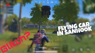 Pubg car ghost 👻in sanhook map pubg mobile or a glitch by Lost Gaming 2