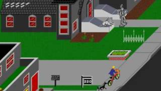 Game Over: Paperboy (Arcade)