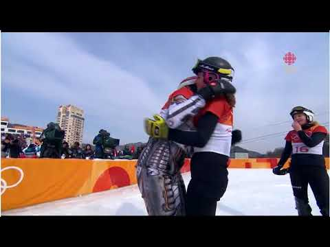 Ester Ledecká makes history with 2nd Olympic gold medal in 2 different sports  Video  CBC Olympics