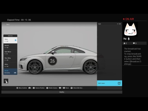 Mirtoko0's Live PS4 Broadcact GT Sport Licence and more